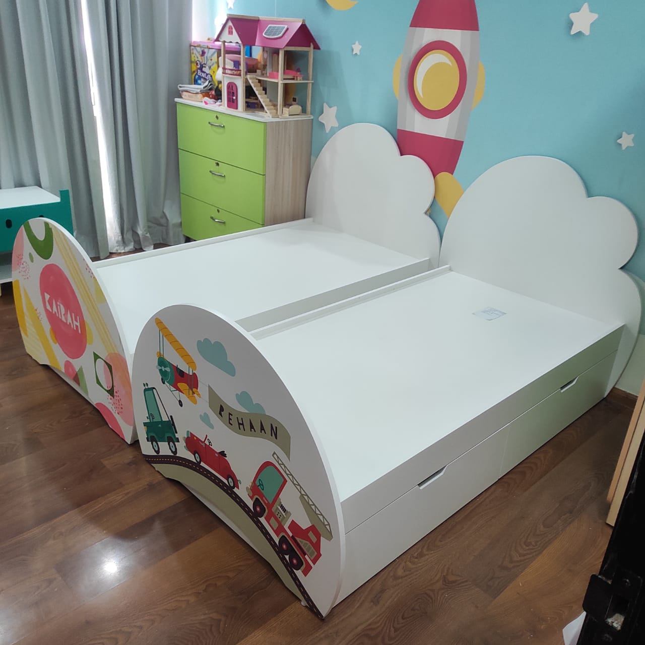 Cloud tails Bed_4